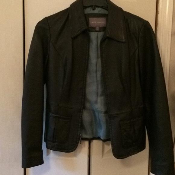 Apt. 9 lambskin leather jacket